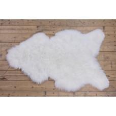 IJslander schapenvacht wit/geschoren