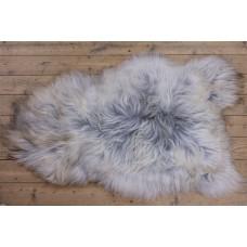 IJslander schapenvacht grijs/langharig