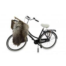 Zadeldekje voor fietszadel schapenvacht